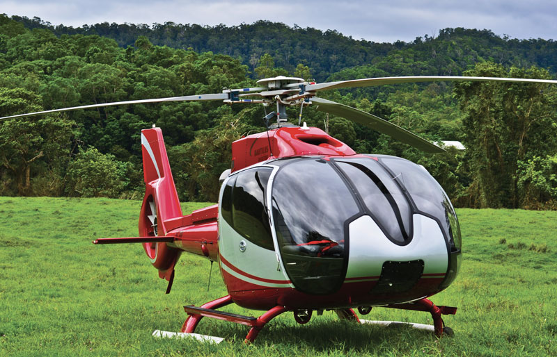Private helicopter Australia