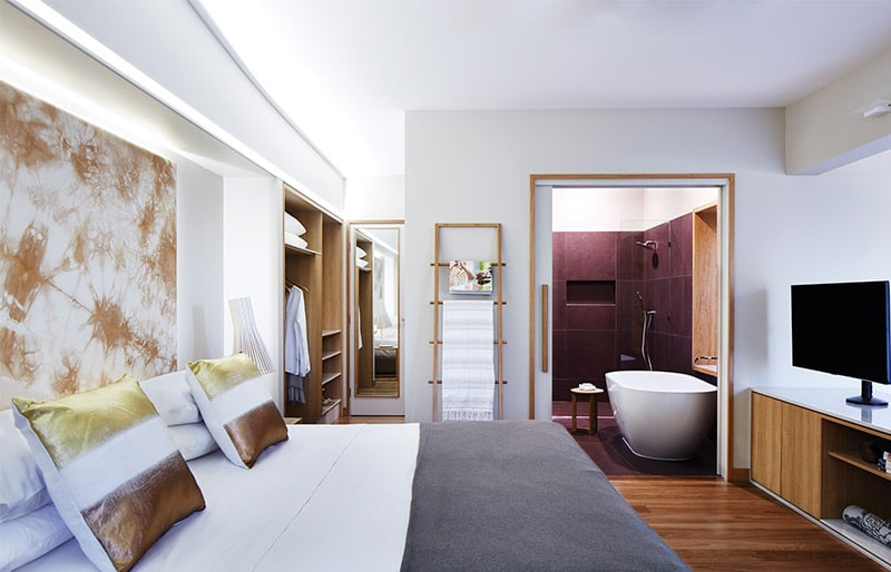 Rooms and suites at Elements of Byron Resort & Spa