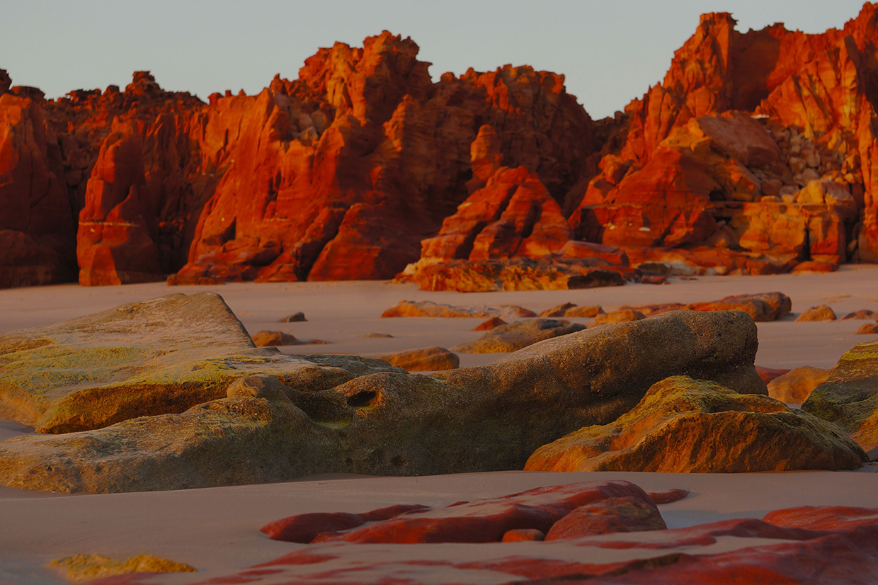 Red rocks at Cape Leveque