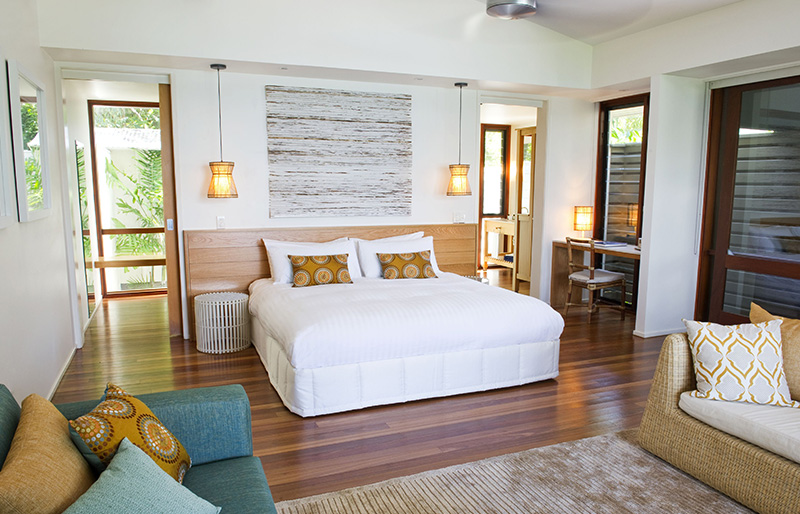 Lizard Island rooms and accommodations