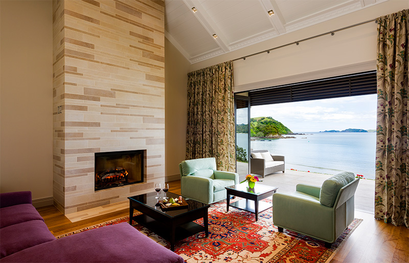 Helena Bay Lodge luxurious private suite