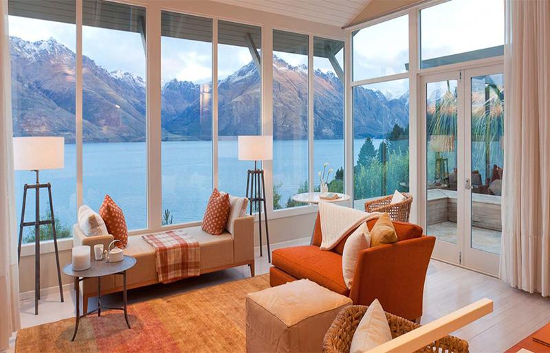 Luxury private suites at Matakauri Lodge