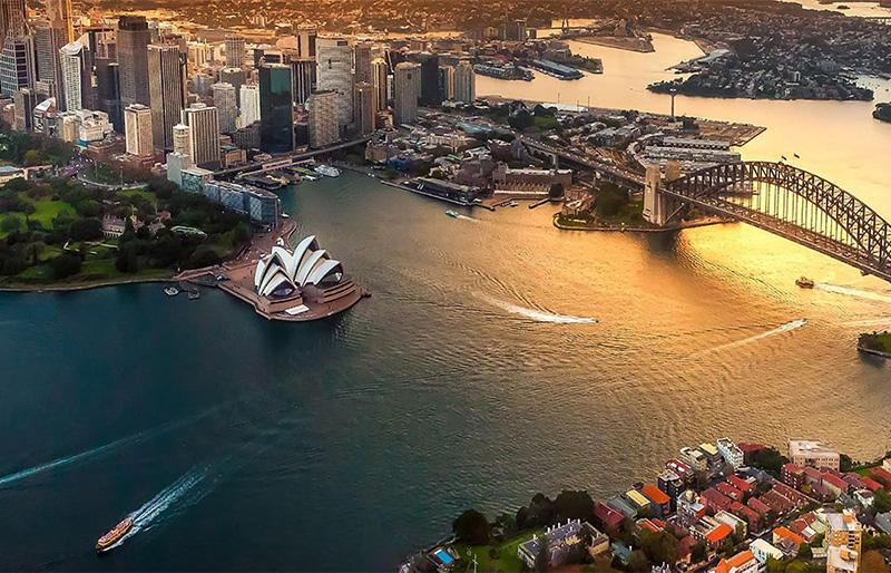 Sydney Sky view